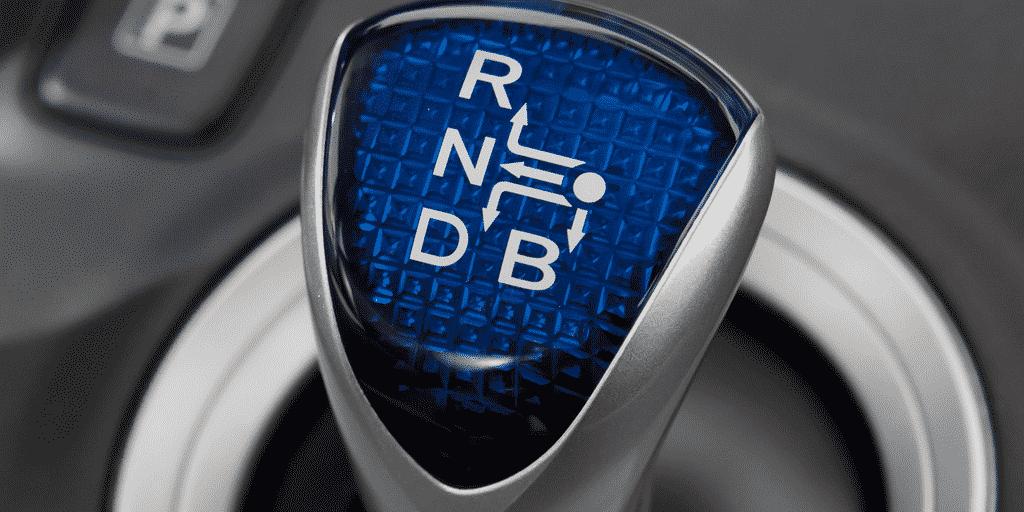 hybridauto schalthebel