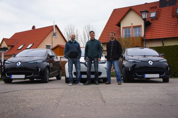 Elektroautos on Tour mit Werner Hillebrand-Hansen