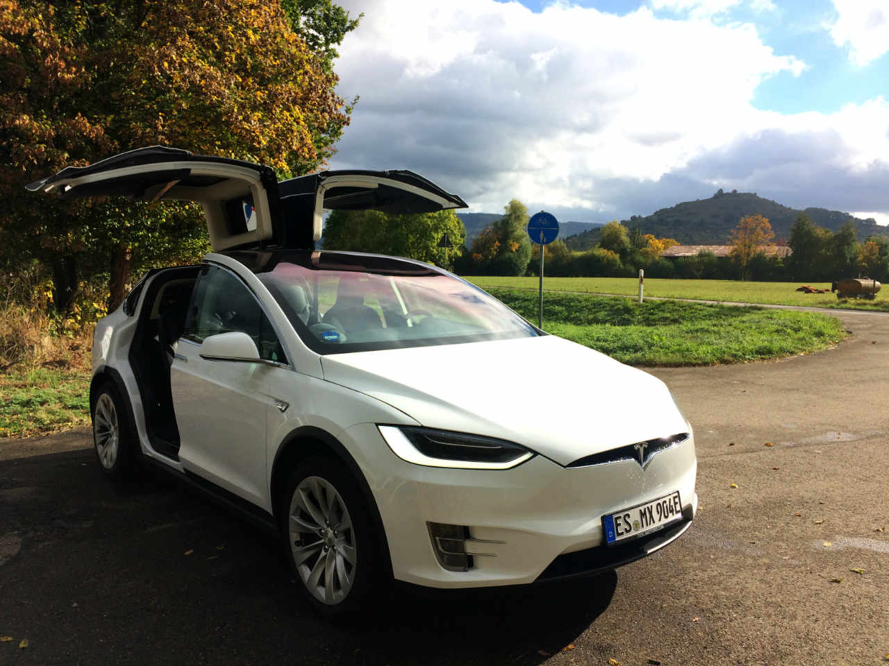 tesla sharing model x pegasus