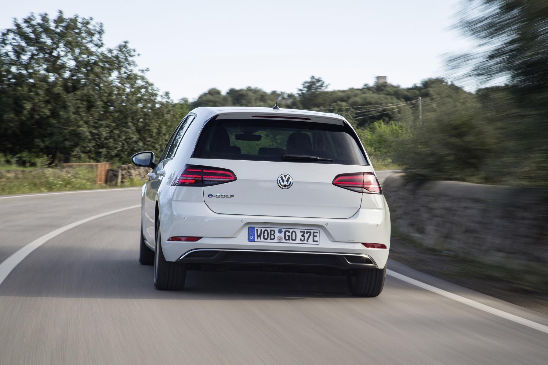 Volkswagen e-Golf Heck