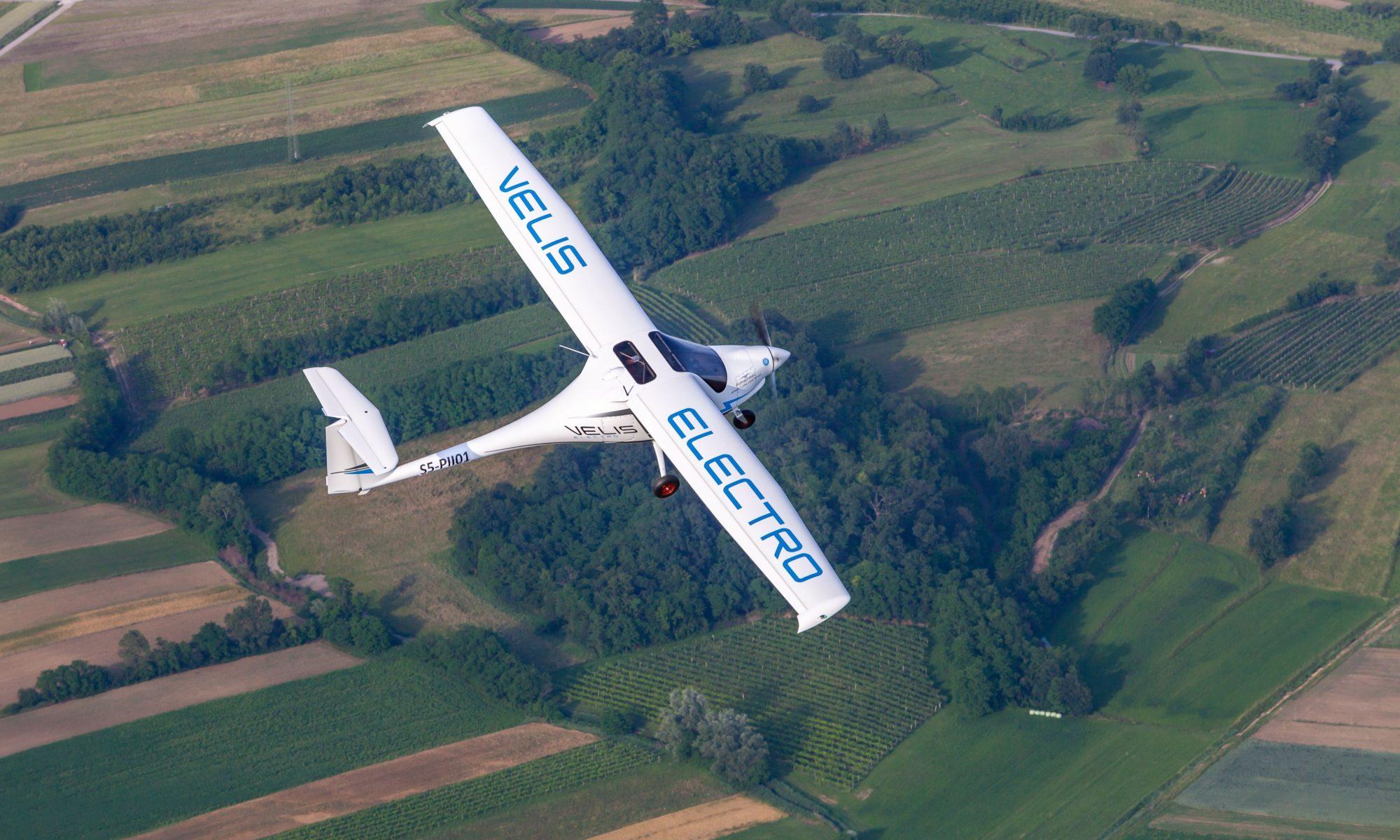 Pipistrel Velis Elektro-Weltrekordflug